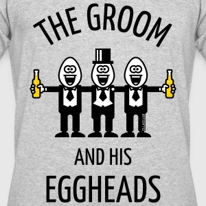 The Groom And His Eggheads (Stag Night / 3C / POS) - Men's 50/50 T-Shirt