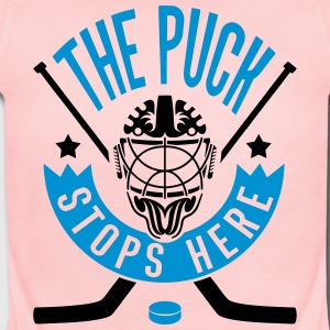 The Puck Stops Here (Hockey) Baby Bodysuits - Short Sleeve Baby Bodysuit