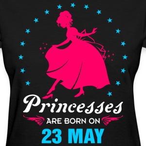 Priencess are Born on 23 May - Women's T-Shirt