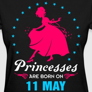 Priencess are Born on 11 May - Women's T-Shirt