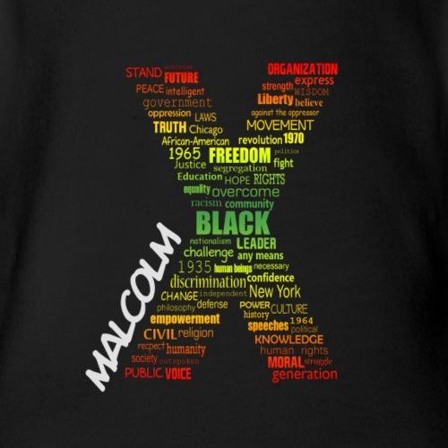 Typographic Malcolm X