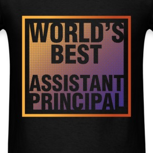 Assistant Principal - World's best assistant princ - Men's T-Shirt