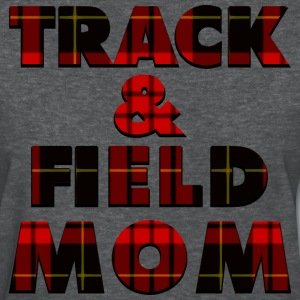 Track and Field Mom Plaid T-Shirts - Women's T-Shirt