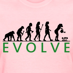 Funny Women's Gardening Evolution - Women's T-Shirt