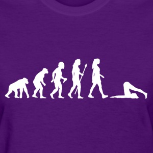 Women's Evolution Of Yoga  - Women's T-Shirt