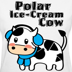 Polar Ice-Cream Cow Women's T-Shirts - Women's T-Shirt