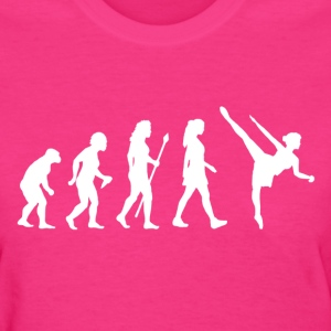 Evolution Of Ballet Ballerina T Shirt - Women's T-Shirt