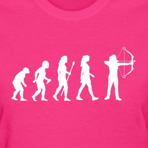 Evolution Of Archery - Women's T-Shirt