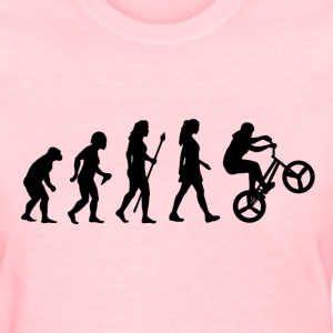 Women's BMX Evolution - Women's T-Shirt