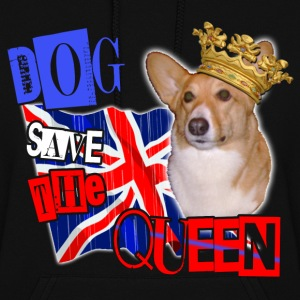 dog save the queen london 2012 celebration tee welsh corgi. Hoodies - Women's Hoodie