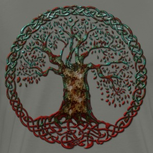 TREE OF LIFE - blood moon - Men's Premium T-Shirt