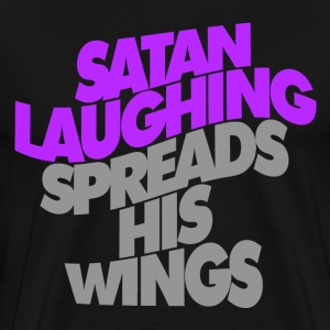 SATAN LAUGHING - Men's Premium T-Shirt