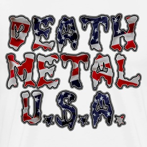 DEATH METAL U.S.A. - Men's Premium T-Shirt