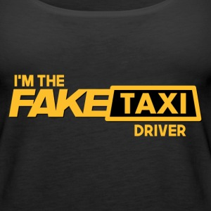 Fake Taxi Tanks - Women's Premium Tank Top
