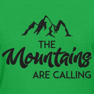 The Mountains Are Calling T-Shirts - Women's T-Shirt