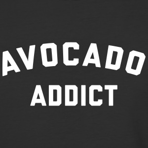 Avocado Addict Funny Quote T-Shirts - Baseball T-Shirt