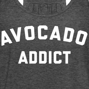 Avocado Addict Funny Quote Tanks - Women's Flowy Tank Top by Bella