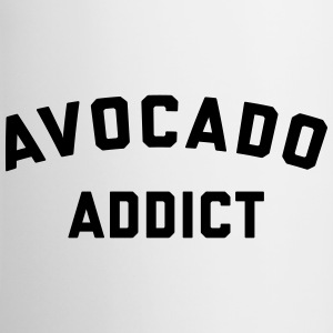 Avocado Addict Funny Quote Mugs & Drinkware - Contrast Coffee Mug