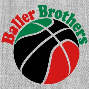 Baller Brothers RBG basketball  cap 1 - Snap-back Baseball Cap