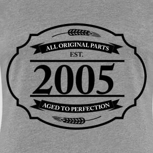 All original Parts 2005 - Women's Premium T-Shirt
