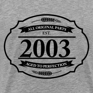 All original Parts 2003 - Men's Premium T-Shirt