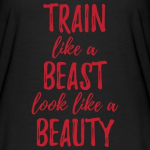 Train Like a Beast T-Shirts - Women's Flowy T-Shirt
