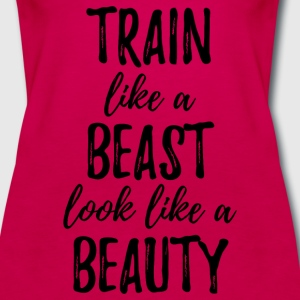 Train Like a Beast Tanks - Women's Premium Tank Top