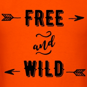 Free and Wild T-Shirts - Men's T-Shirt