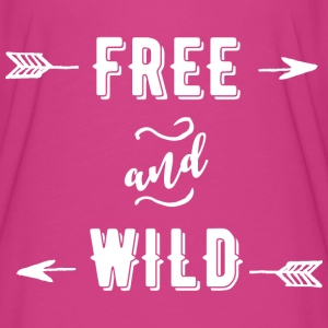 Free and Wild T-Shirts - Women's Flowy T-Shirt