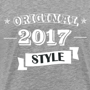 Original 2017 Style - Men's Premium T-Shirt