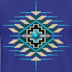 Native American Beadwork 14 - Men's Premium T-Shirt