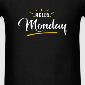 Monday - Hello Monday - Men's T-Shirt