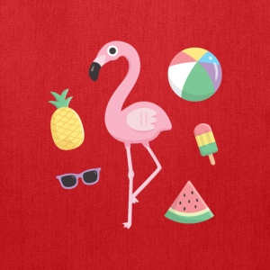 Flamingo Beach Summer Bags & backpacks - Tote Bag