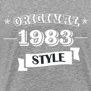 Original 1983 Style - Men's Premium T-Shirt