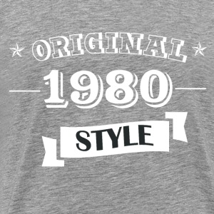 Original 1980 Style - Men's Premium T-Shirt