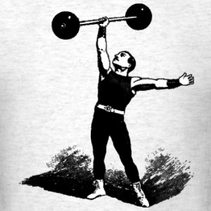 vintage strongman - Men's T-Shirt
