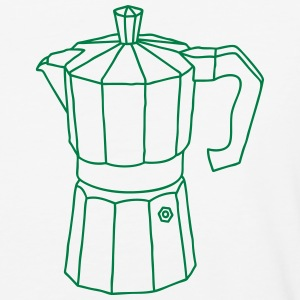 Espresso coffee maker T-Shirts - Baseball T-Shirt
