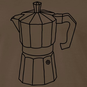 Espresso coffee maker T-Shirts - Men's Premium T-Shirt