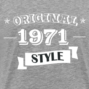 Original 1971 Style - Men's Premium T-Shirt