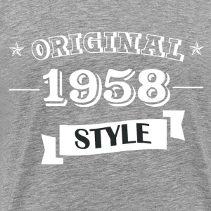 Original 1958 Style - Men's Premium T-Shirt