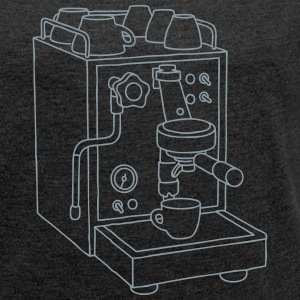 Espresso maschine T-Shirts - Women's Roll Cuff T-Shirt