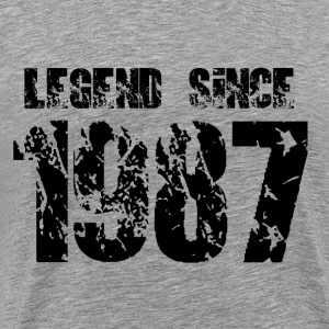 Legend since 1987 - Men's Premium T-Shirt