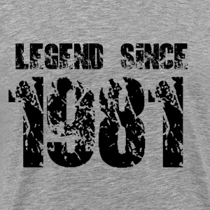 Legend since 1981 - Men's Premium T-Shirt