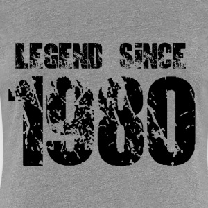 Legend since 1980 - Women's Premium T-Shirt