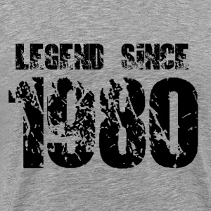 Legend since 1980 - Men's Premium T-Shirt