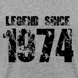 Legend since 1974 - Men's Premium T-Shirt