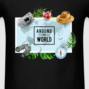 Traveller - Around the world - Men's T-Shirt