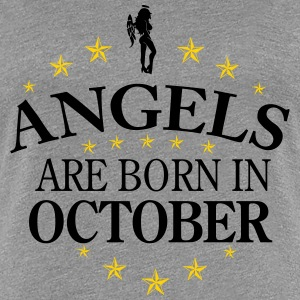 Angels October - Women's Premium T-Shirt