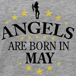 Angels may - Men's Premium T-Shirt