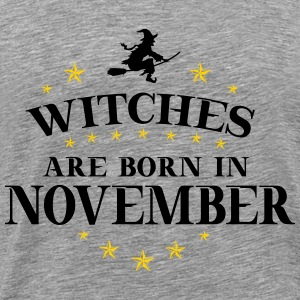 Witches November - Men's Premium T-Shirt